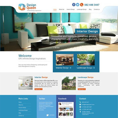 Design Queen Website Template